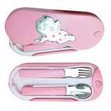 Valenti @ co детский набор ложка и вилка для девочка купить