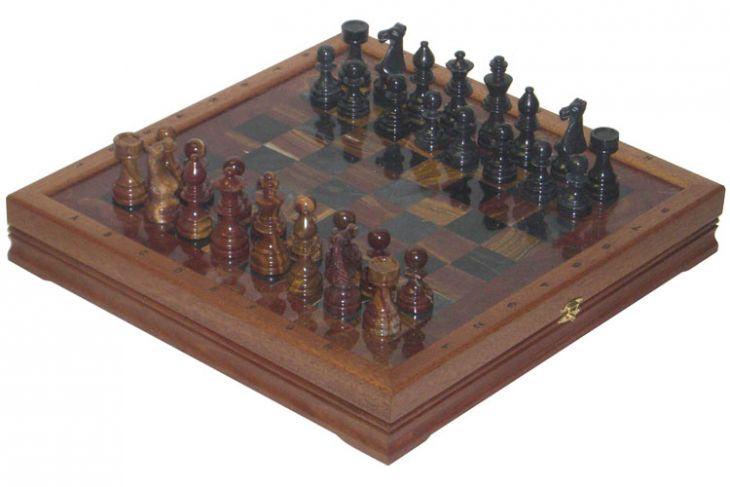 """Шахматы каменные Европейские (высота короля 3,50"""")"""